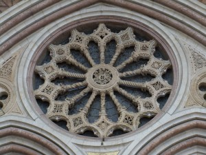 Rose window full view