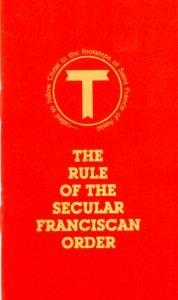 The Rule of the Secular Franciscan Order