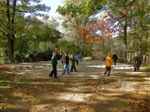 Walking the Labyrinth at Bon Secour Spiritual Center